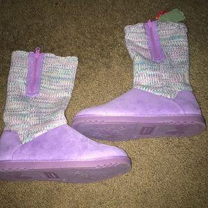 Light Purple Boots